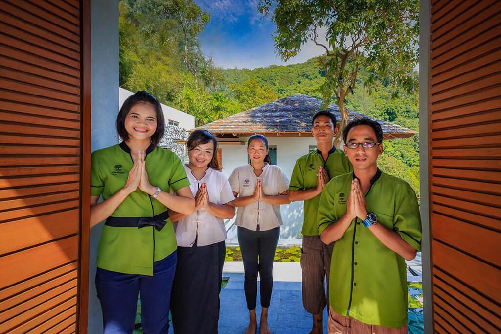 Baan Banyan - friendly staff