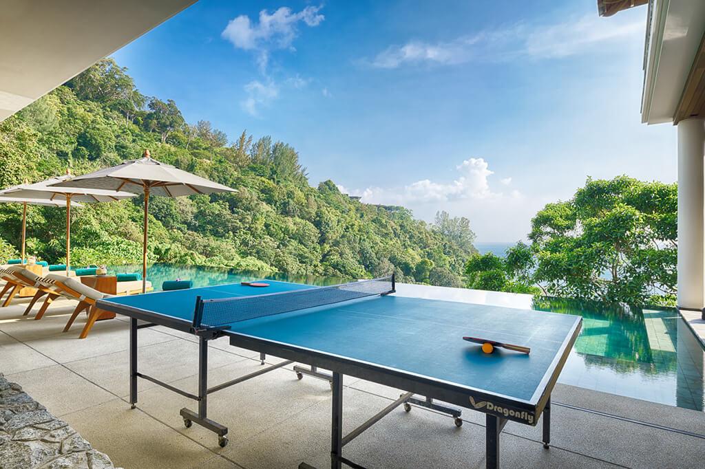Baan Banyan - Poolside Table Tennis