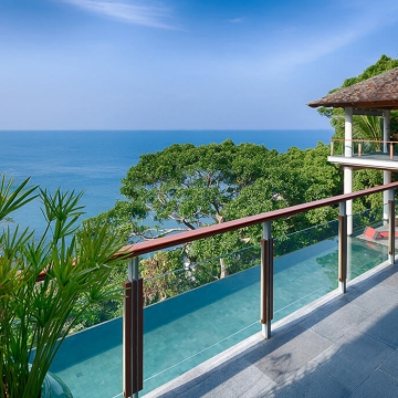Baan Banyan - View from the Main Pavilion Upper Level